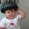 じいじいのお帽子、お似合いよ!