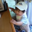 帆夏とお帽子!可愛いよ!